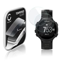 2x Screen protector glass Garmin Forerunner 735XT (2.5D, 9H, 0,33mm, Full Glue) Tempered Glass