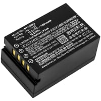 Battery for FujiFilm GFX 50s GFX Medium Format - NP-T125 1000mAh , Replacement battery