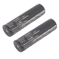 2x Battery for Inova T4 / UR611 - Inova: FLB-LIN-7 Streamlight: 68792 (2200mAh) Spare Battery Replacement
