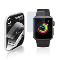 Protection d'écran en verre Apple Watch 1 / 2 / 3 - 38mm (2.5D, 9H, 0,33mm, Full Glue) Verre trempé