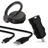 GPS Navigation devices car holder on the windscreen for TomTom One, XL, XXL Serie + Mini USB cable & car charger