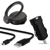 Appareils de navigation GPS support sur le pare-brise pour TomTom One, XL, XXL Serie + Mini câble USB et chargeur de voiture