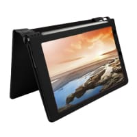 Custodia per Lenovo Yoga Tablet 10 / 10 HD Plus / B8000 - Similpelle, nero Custodia Borsa Guscio