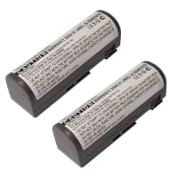 2x Battery for Sony MZ-B3 MZ-E3 MZ-R2 MZ-R3 MZ-R30 MZ-R35 MZ-R4 - LIP-12 LIP-12,LIP-12H (2300mAh) Spare Battery Replacement