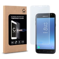 Protection d'écran en verre pour Samsung Galaxy J3 DUOS (2017 - SM-J330) - Tempered Glass (Qualité HD / 3D Full Cover / 0,33mm / 9H)