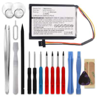 Batterie pour TomTom Start 55 / 52 / 45 / 1EF0.017.03 / 1ET0.052.09 / 4EF00 / 4EF0.017.00 - 6027A0090721 (800mAh) + Set de micro vissage Batterie Rechange