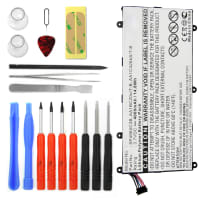Battery for Samsung Galaxy Tab 7.0 Plus / Galaxy Tab 2 7.0  incl. Tool-kit - SP4960C3B (4000mAh) Replacement battery