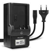 Ladegerät  für Konica Minolta NP-900 (Konica Minolta DiMAGE E40 / E50) Ladekabel Netzteil