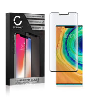 Screen protector glass Huawei Mate 30 Pro (3D Full Cover, 9H, 0,33mm, Full Glue) Tempered Glass