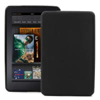 Back Cover for Amazon Kindle 4 Generation Fire - , black Case