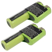 2x Battery 3.6V, 3000mAh, NiMH for Bosch AGS 50, AGS 8, AGS 8-ST - 1 609 200 913, 2 607 335 002 (2x) Spare Battery Replacement