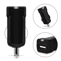USB Car Charger 12V / 24V for Garmin Edge 520 Plus, 130 / InReach Mini / Overlander USB Adapter