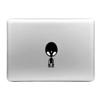 Sticker MacBook Alíen Calcomanía Vinilo | Sticker Portátil para MacBook Air, Pro, 11