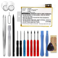 Battery for Apple iPhone 3G (A1324 / A1241) - 616-0372 (1200mAh) + Tool-kit, Replacement battery