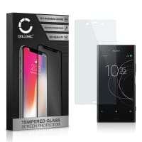 Screen protector glass Sony Xperia XZ1 (3D Full Cover, 9H, 0,33mm, Edge Glue) Tempered Glass