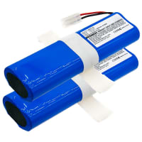 2x Batteri 14.4V, 3400mAh, Li-Ion för Hoover Rogue 970 Robot Vacuum, Rogue 970 Wi-Fi Connected - 440011973 replacement battery