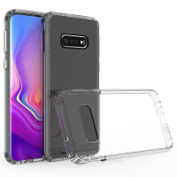 Backcover for Samsung Galaxy S10e (SM-G970) - Silicone, Crystal Clear Case