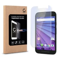 Näytönsuojat Lasi Motorola Moto G3 (2.5D, 9H, 0,33mm, Full Glue) Tempered Glass