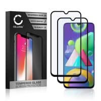 2x Näytönsuojat Lasi Samsung Galaxy A30 / A30s / A50 / M21 / M30s / M31 (3D Case-friendly, 9H, 0,33mm, Full Glue) Tempered Glass