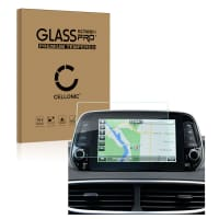 Panzerglas Hyundai Tucson (2019) (2.5D, 9H, 0,33mm, Full Glue) Displayschutz Tempered Glass