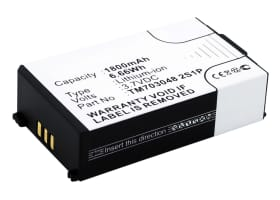 Battery for Tritton Warhead 7.1 - TM703048 2S1P (1800mAh) Replacement battery