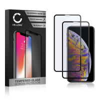 2x Screen protector glass iPhone Xs Max (3D Full Cover, 9H, 0,33mm, Full Glue) Tempered Glass
