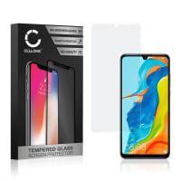 Displaybeschermglas Huawei P30 Lite (3D Case-friendly, 9H, 0,33mm, Edge Glue) Tempered Glass