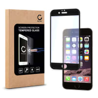 Cristal protector de la pantalla para iPhone 6 / 6S (TITANIUM-Cover) - Tempered Glass (Calidad HD / 3D Full Cover / 0,33mm / 9H)