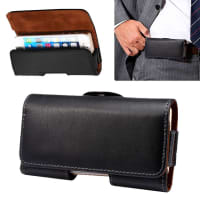 Flip Wallet für den Gürtel / Smartphones (3,8 - 4