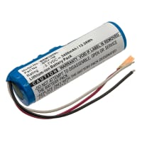 Batteri för Braven BRV-1M - BRV 1M 3400mAh