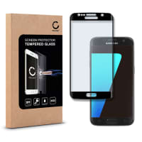 Displaybeschermglas voor Samsung Galaxy S7 (SM-G930 / SM-G930F) - Tempered Glass (HD kwaliteit / 3D Full Cover / 0,33mm / 9H)