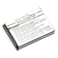 Batterie pour JVC GC-XA1, JVC GC-XA2, JVC Adixxion - BN-VH105, BN-VH105US (1050mAh) Batterie de remplacement