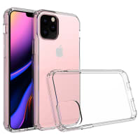 Backcover für Apple iPhone 11 Pro - Silikon, Transparent Tasche, Case, Etui, Hülle