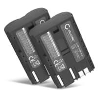 2x Batterie pour appareil photo Canon EOS 5D EOS 50D, EOS 40D, EOS 30D 300D, EOS 20D 20Da, EOS 10D, EOS D60, Canon PowerShot G3 G5 G6 G1 G2, Pro1, Canon MV700 MV500 MC300, Canon Optura, Canon ZR, Canon FV - BP-511,-512,-514,BP-508 1600mAh Batterie Remplacement
