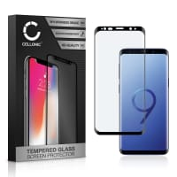 Screen protector glass Samsung Galaxy S9 (SM-G960) (3D Full Cover, 9H, 0,33mm, Full Glue) Tempered Glass