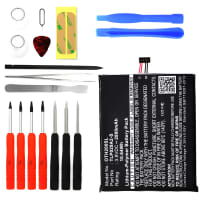 Battery for Alcatel One Touch Idol 3 (5.5) incl. Tool-kit (6045 / 6045K) - TLP029AJ, TLP029A2-S (2800mAh) Replacement battery
