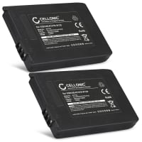 2x Battery for Siemens Gigaset 4000 Micro, 4010, 4015, Gigaset SL3501, Telekom Sinus 710, Sinus 700M - V30145-K1310-X132 (500mAh) Replacement battery