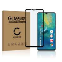 Protection d'écran en verre Huawei Mate 20 X 5G (3D Case-friendly, 9H, 0,33mm, Full Glue) Verre trempé
