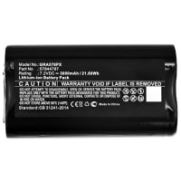 Battery 7.2V, 3000mAh, Li-Ion for Gardena Groom Barber - 57844787 Spare Battery Replacement