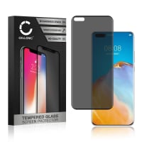Displayschutzglas Huawei P40 Pro (Blickschutz, 9H, 0,33mm, Full Glue) Displayschutz Tempered Glass