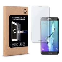 Panzerglas für Samsung Galaxy S6 Edge Plus (SM-G928 / SM-G928F) - Tempered Glass (HD-Qualität / 3D Full Cover / 0,33mm / 9H)
