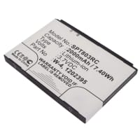 Battery for Sierra Wireless AirCard 803S / SW760 / SWAC803SMH - W-4 (2000mAh) Replacement battery