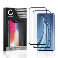 2x Screen protector glass Xiaomi Mi 10 Pro (3D Case-friendly, 9H, 0,33mm, Full Glue) Tempered Glass