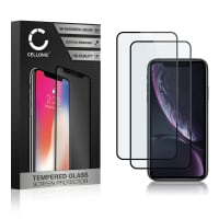 2x Skjermbeskytter glass iPhone 11 (3D Case-friendly, 9H, 0,33mm, Full Glue) Herdet Glass