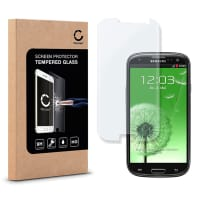 Screen protector glass for Samsung Galaxy S3 / S3 Neo (GT-i9300 / GT-i9301) - Tempered Glass (HD-Quality / 2.5D / 0,33mm / 9H)