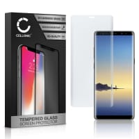 Screen protector glass Samsung Galaxy Note 8 (SM-N950 / SM-N950F) (3D Full Cover, 9H, 0,33mm, Edge Glue) Tempered Glass