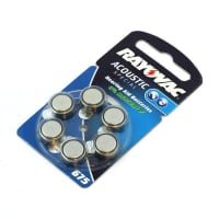 Hörgerätebatterien Rayovac HA675 PR44 675 (x6) Knopfbatterie Knopfzelle Zellenbatterie