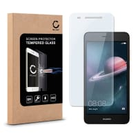 Screen protector glass for Huawei Y6 II / Y6 2 - Tempered Glass (HD-Quality / 2.5D / 0,33mm / 9H)