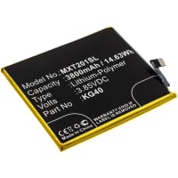 Akku für Motorola One Macro / Moto G8 Play - KG40 (3800mAh) , Ersatzakku