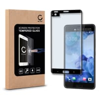 Panzerglas für HTC U Ultra - Tempered Glass (HD-Qualität / 3D Full Cover / 0,33mm / 9H)